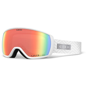 Giro Facet Goggles Women white zag/vivid infrared